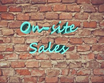 Onsite Sales