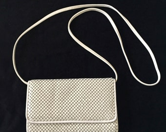 Beige Whiting and Davis Clutch