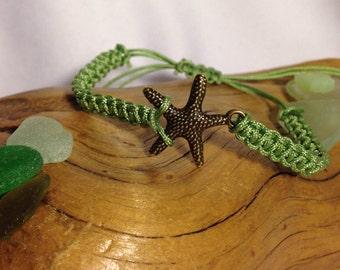 Macrame Bracelet Starfish