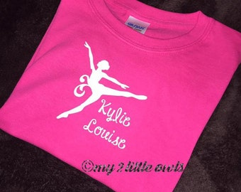 Dance Shirt with personalized Decal!