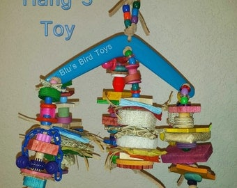 Hang 3 Bird Toy