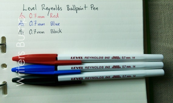 level reynolds classic ballpoint pen from writersbump on