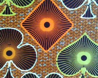 Real Wax Cotton Fabric - GTP Nustyle -  Sold by the yard- Fabric Made in Ghana - Fabric by the yard - African Print Fabric - Ankara Fabric