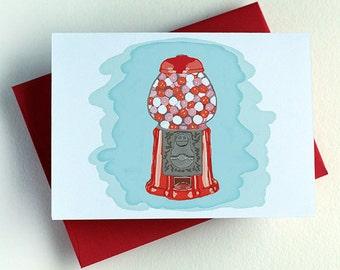 Gumball Machine Valentine