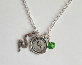 Harry Potter Slytherin Charm Necklace