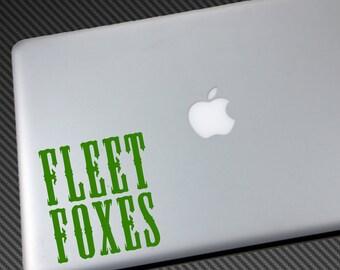 FLEET FOXES Vinyl Decal - Car Sticker macbook laptop wall shirt hat poster hoodie logo music indie folk sun giant helplessness