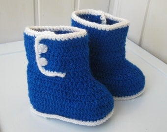 Slippers knit booties Baby Shoes Crochet Boots Children Gift baby blue knitted shoes ready to ship