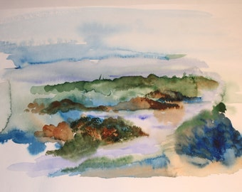 Landscape Watercolour