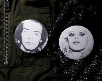 Sid and Nancy Pinback Button Set