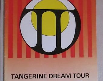Tangerine Dream Tour Programme U.K. 1986