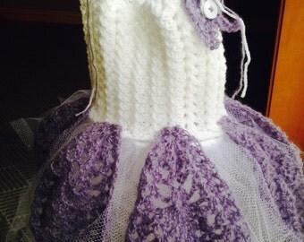 Crochet PATTERN - baby dress crochet pattern, princess dress crochet pattern, disney-inspired crochet, easy baby crochet pattern, dress pdf
