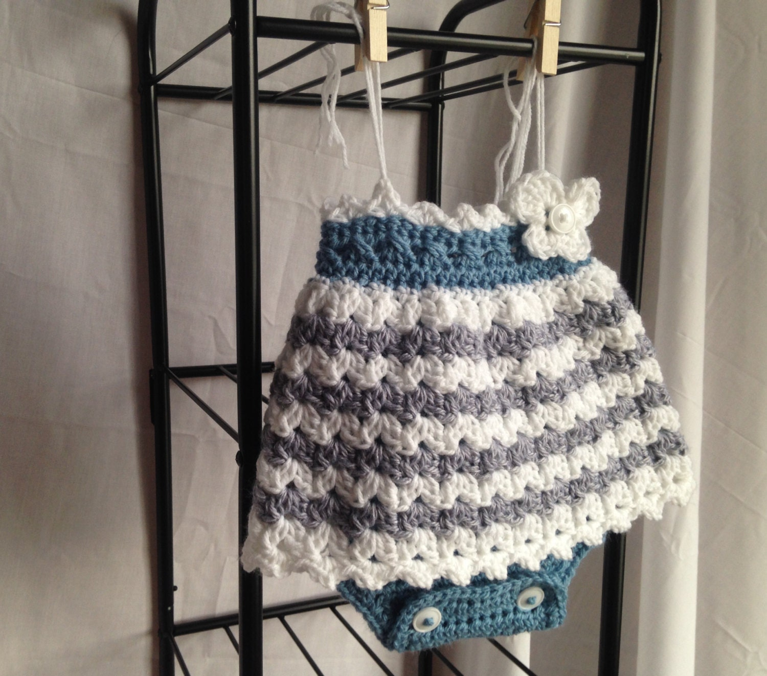 Crochet baby dress pattern crochet romper pattern crochet zoom bankloansurffo Choice Image