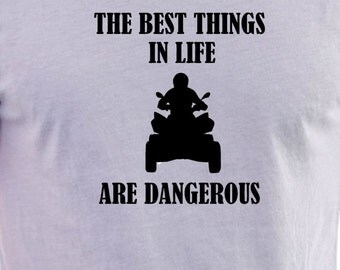 Quad bike  print T-shirt