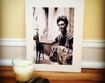 Frida Kahlo Mounted Print