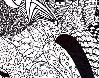 Coloring Page Doodle #11