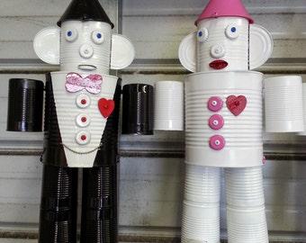 Bride and Groom Tin Man