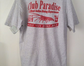 Club Paradise BVI Graphic Front and Back