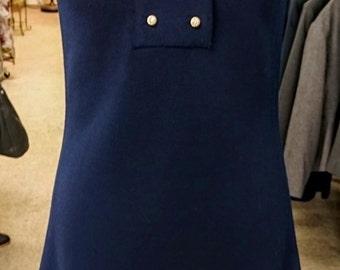 Vintage 1960's Butte Knit Dress