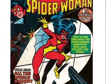 Vintage Marvel Comics  Spider-Woman #1