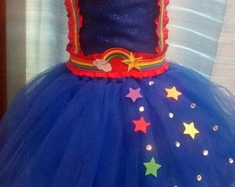Rainbow Brite Dress :)