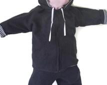 Infant Baby Sweat Suit Swim Wrap Jogging Hoodie Track Soft Comfy Cozy Bespoke Custom Handmade Fleece Terry Sweatshirt Knit Sibling Outfits