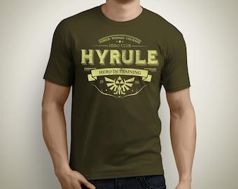 Hero club Hyrule - The Legend of Zelda T-Shirt