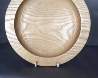 "7"" [18cm] Ash Wood Dish"