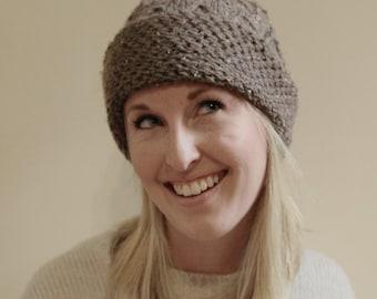 KNITTING PATTERN - Brandi Knit Hat Pattern (Child, Young Adult, Adult Sizes)