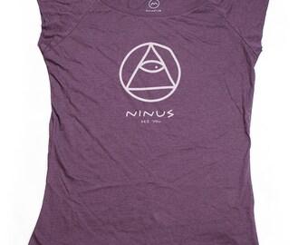 Ninus - See You, Hand-printed Bamboo Women's T-Shirt