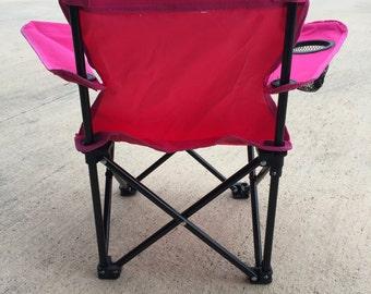 Toddler Monogram Folding Chair