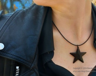 BLACKSTAR large necklace