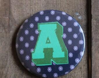 Letter A Alphabet Badge
