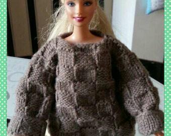 Barbie oversized sweater design(15)