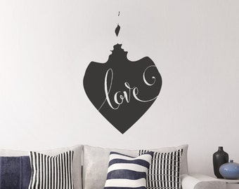 Wall Decal - Couple Kissing — home decor, wall decals, wall art, wall decor, wall stickers, decals, wall murals, wall stencils