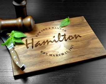 Custom Cutting Board-Engraved Cutting Board, Personalized Cutting Board, Wedding Gift, Housewarming Gift, Anniversary Gift, Engagement gift