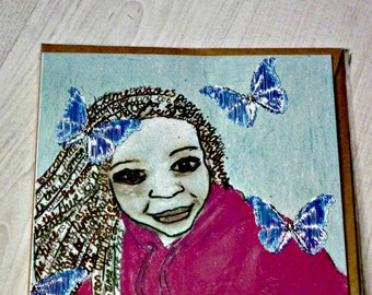 Printed cards, Greeting cards, ethnic art, ethnic cards