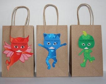 PJ MASKS Party Favor Bags
