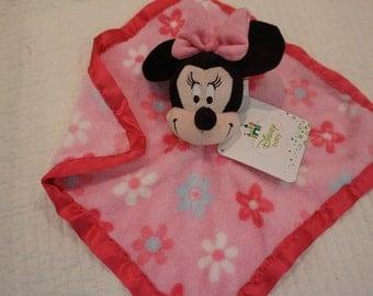 Disney plush lovey, Minnie, Dumbo security blanket