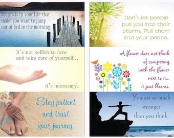 6 Motivational Magnets
