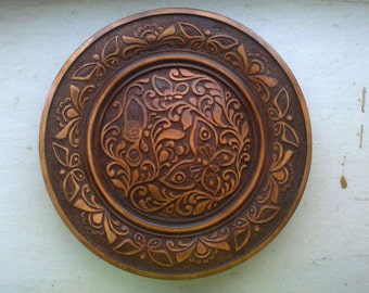 plate of wood