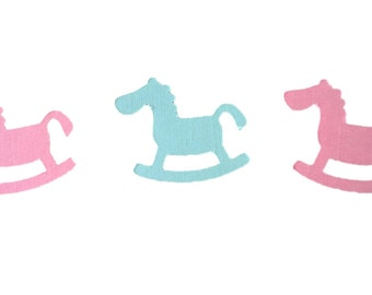 Baby Rocking Horse Table Confetti Childrens Birthday Baby Shower Party Favours Table Decoration Confetti