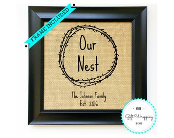 Frame Included Housewarming Gift Ideas House Warming Gift Idea Home Decoration Present New Homeowner Welcome Home