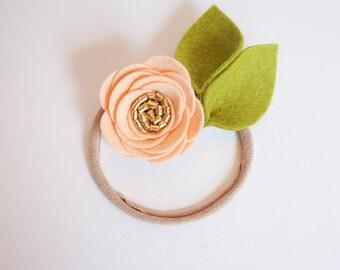 Petite Apricot Rose