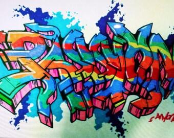 Custom Graffiti Pieces
