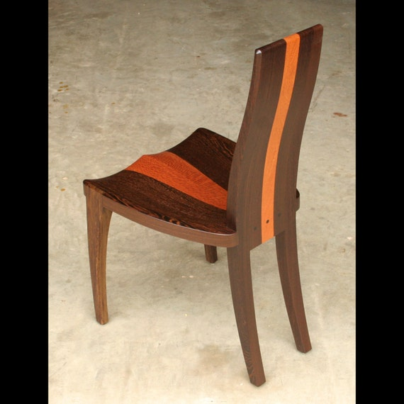 Modern wood dining chair with comfortable by for Comfortable modern dining chairs