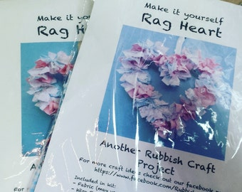 Craft Kit Make a Rag Heart