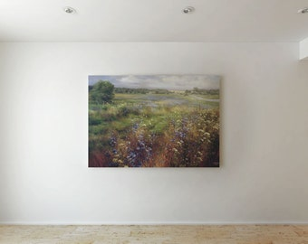 Beautiful field - Canvas decor