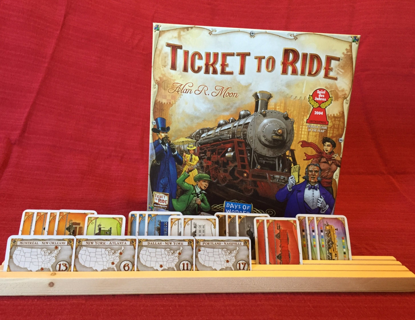 ticket to ride card pdf