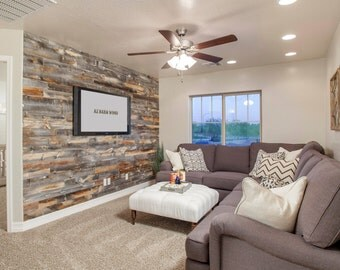Barn Wood Siding for Accent Wall