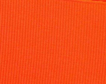 Neon Orange Grosgrain Ribbon    (05-##-S-267)